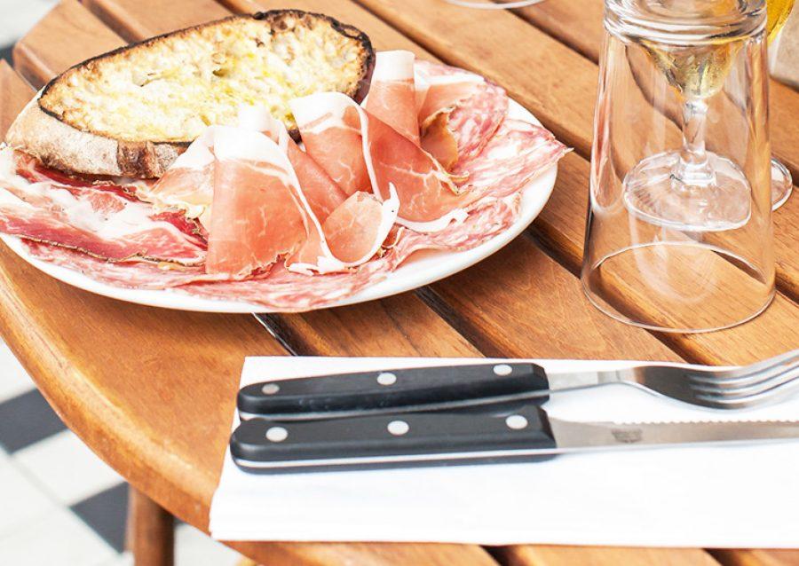 prosciotto ham at fatto a mano