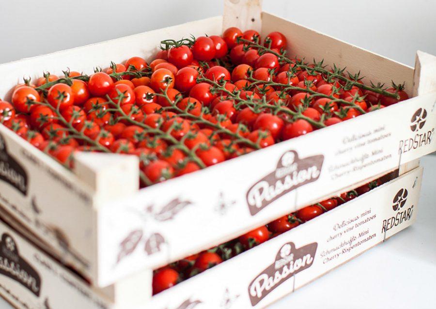 fresh vine tomatoes prepared daily